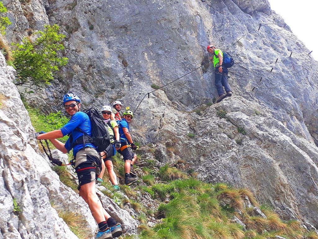 Klettersteig Katrin : Katrin m via klettersteig b c salzkammergut