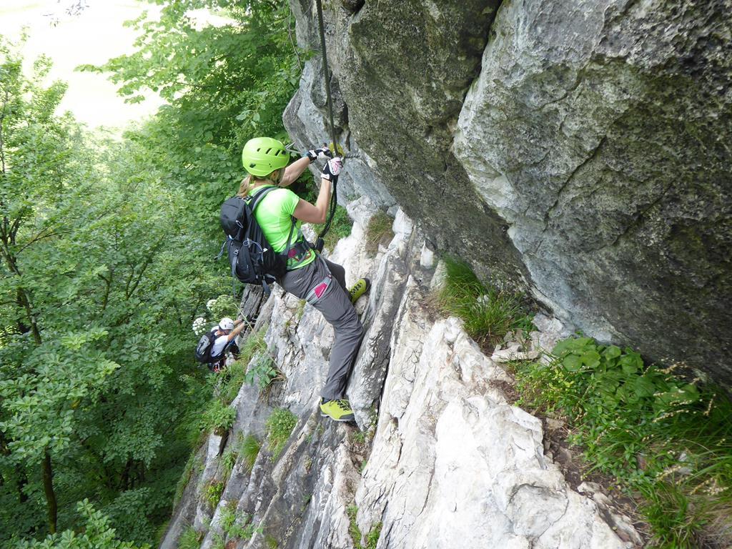 Klettersteig Zahme Gams : Bergfex klettersteig u ez tour salzburger land