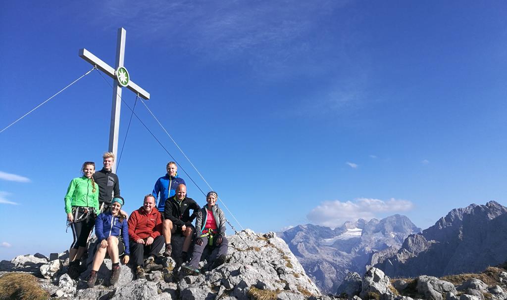 Klettersteig Intersport : Dav rainding bei letztem klettersteig für dieses jahr
